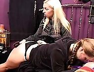 Sexy Sluts get spanked by the babysitter