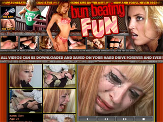 Bun Beating Fun. Caning Videos
